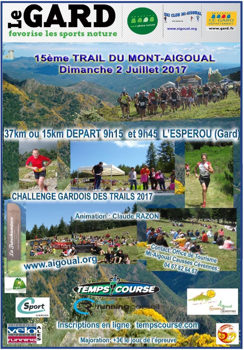 Trail Mont Aigoual 2017