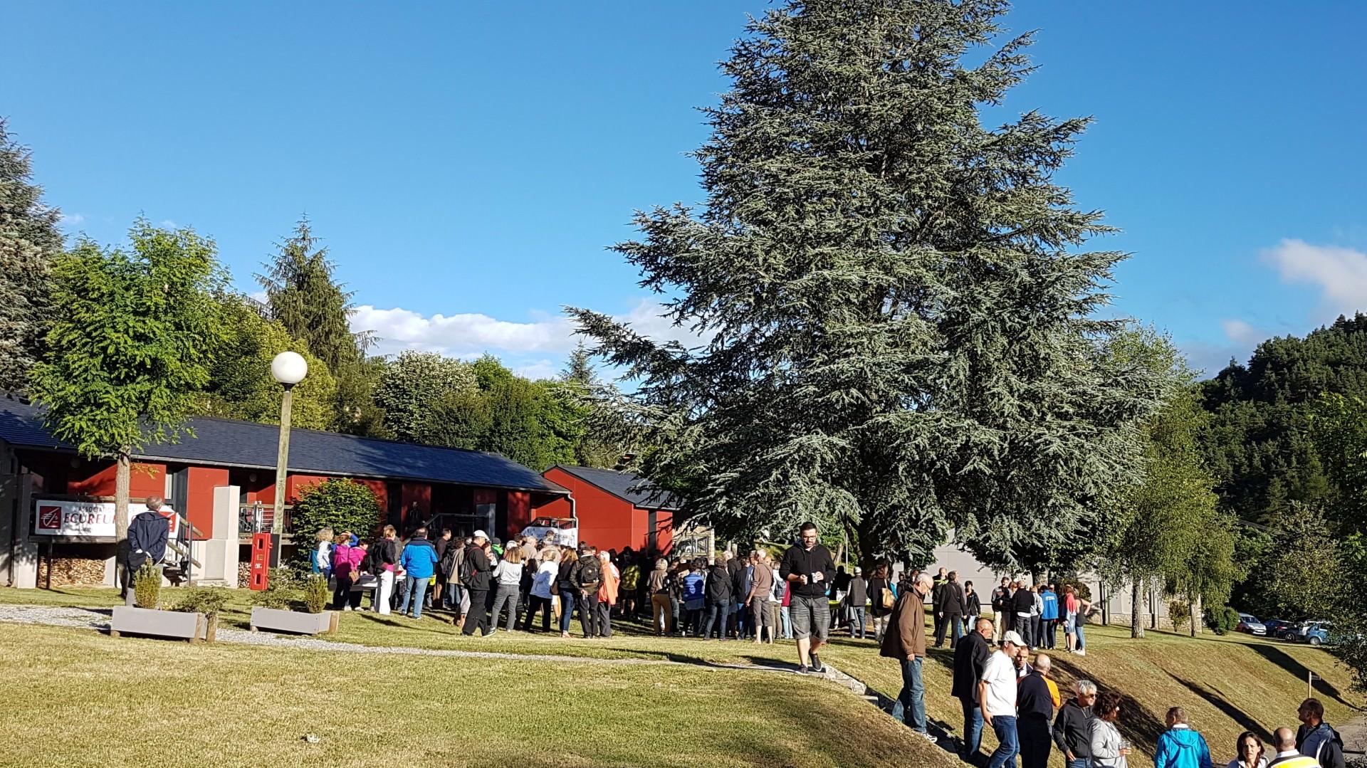 Groupe 250 randonneurs Aigoual, Gorges et Causse.