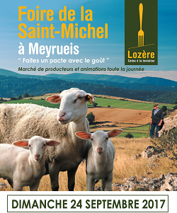 Foire Saint-Michel Meyrueis 2017