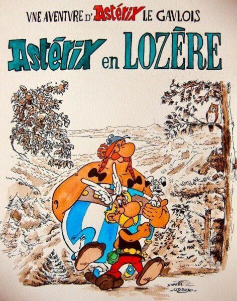 Astérix en Lozère
